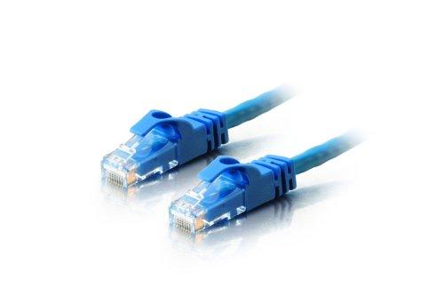 Satmaximum Cables Direct Online - Cat5 Ethernet Cable for LAN Internet Modem Xbox PS3 PC Latpop (10FT, Blue)