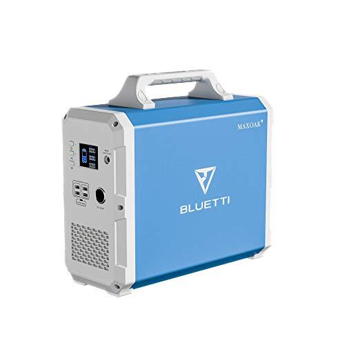 BLUETTI EB150 ポータブル電源 1500WH 大容量 ポータブルバッテリー AC出力(定額1000W) PSE認証済 災害用 車中泊 キャンプ 電動工具 停電 熱中症対策 家庭用蓄電池 扇風機 冷蔵庫 エアコンに対応可