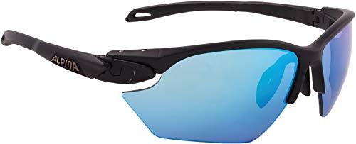 ALPINA TWIST FIVE HR S CM+ Sportbrille, Unisex– Erwachsene, black matt, one size