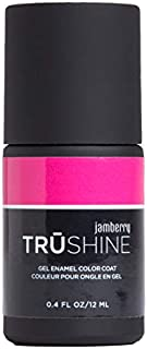 Flamingo - TruShine Gel Enamel by Jamberry - Salon-Quality Gel Enamel Polish - UV Cured - 0.4 Ounce Bottle