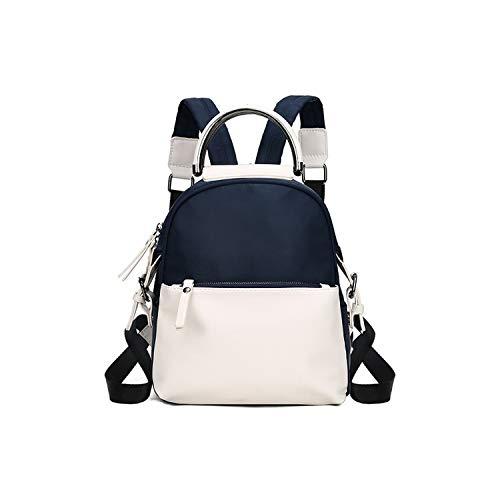 Zaino in tela da donna carino borse da viaggio borse per computer portatile scuola zaino per ragazze adolescenti casual back pack, bianco (Bianco) - shoulder-handbags