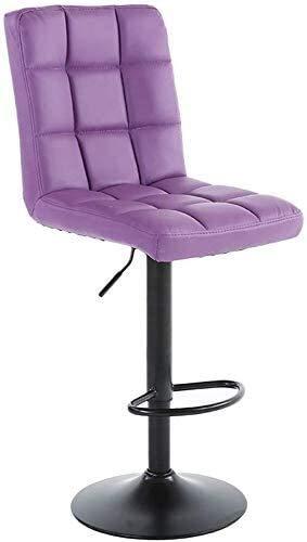 Suge Taburetes de la barra de hierro en el arte, alta taburete creativo silla giratoria silla Seggiovia taburete de barra for la estética de la caja registradora altura de la caja de elevación heces R
