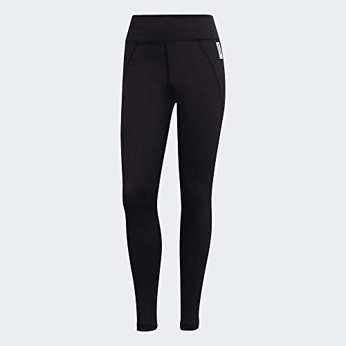 adidas W BB Tight Mallas, Mujer, Black/White, M