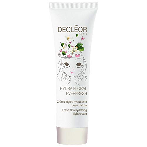 Decleor' Hydra Floral Everfresh Hydrating Light Cream 30ml met Neroli etherische olie (gedehydrateerde huid)