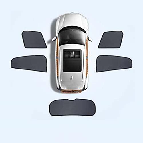 Para Mazda BIANTE ventana lateral del coche, cortina magnética universal con protección solar UV (color: juego de 5 piezas)