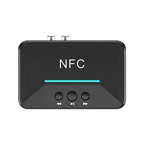 Lowest Price! Tuneway 5.0 Receiver NFC 3.5mm RCA Audio AUX Output Dongle Stereo Receptor