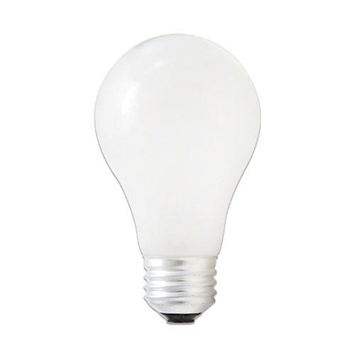 Bulbrite 115142-43 Watt Halogen Light Bulb2 PACK), A19 Shape (Standard Light Bulb), Energy Efficient 60 Watt Incandescent Equivalent, Soft White
