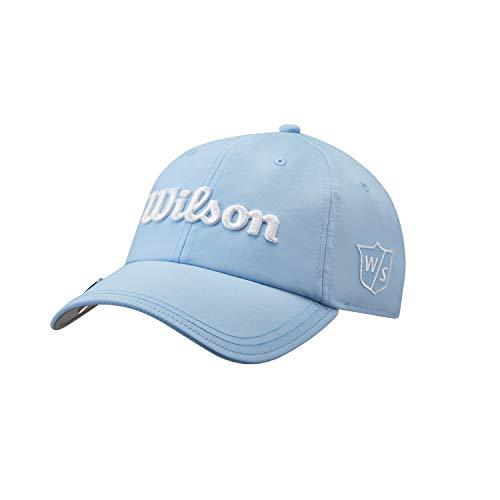 Wilson Damen Golf-Kappe, PRO TOUR, Polyester, Hellblau, Einheitsgröße, WGH7000101