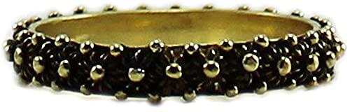 Anello in argento brunito rosè 925 fede filigrana tipo sarda lavorazione nido ape 1 fila (19)