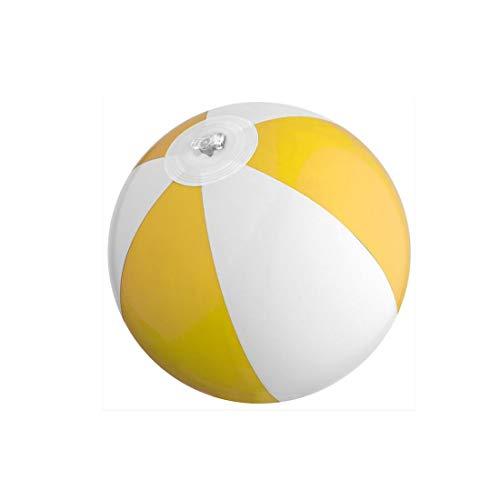 3 x mini Wasserball / Strandball für Kinder - GELB - Urlaub Strand Spiel Freizeit Spass