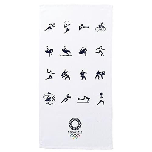 東京2020公式ライセンス商品 ミニバスタオル 東京2020 オリンピック スポーツピクトグラムヘリテッジゾーン 1905016100