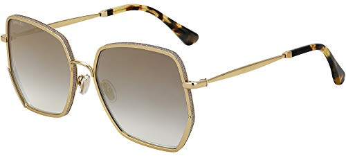 Jimmy Choo Gafas de Sol ALINE/S GOLD/GREY SHADED 58/17/145 mujer