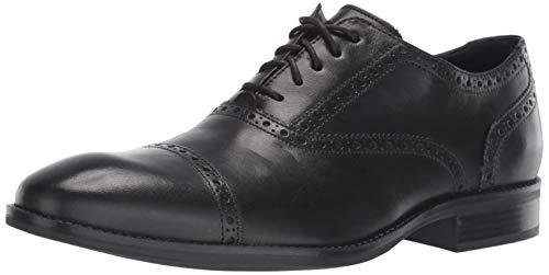 Cole Haan Men's Wayne Cap Toe Oxford, Black, 9.5 M US