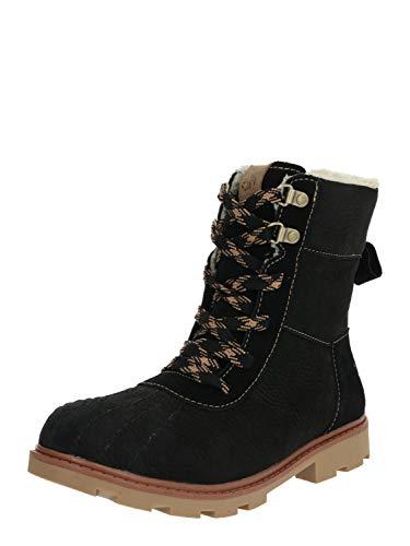 Roxy Damen Meisa- Waterproof Winter Boots for Women Schlupfstiefel, Schwarz (Black Blk), 37 EU
