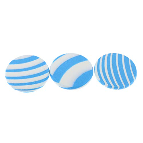 B Blesiya 3pcs Blender Eponge Demaquillants Lavables, Nettoyage Du Visage Coussin Paquet Réutilisables Portable - #1