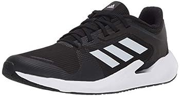 adidas Men s Alphatorsion Running Shoe Black/White/Grey 10.5