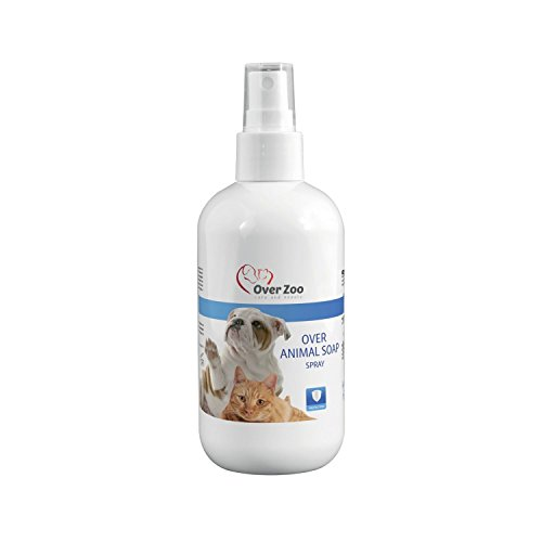 Over-Zoo, Animal Soap Spray – Spray per cura e pulizia del manto e pelo di cani e gatti (250ml)