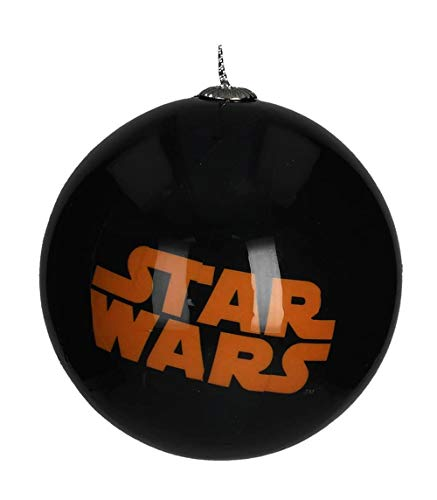 Star Wars sdtsdt89736 Boule de Noël, Orange, 8 x 8 x 8