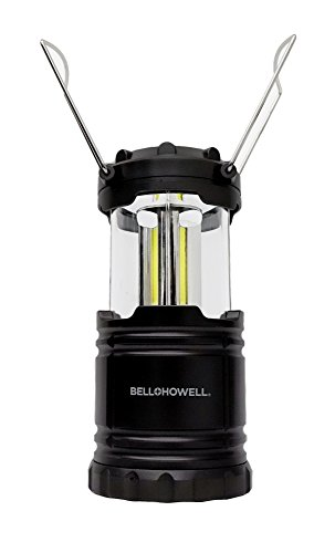 Bell + Howell Taclight Lantern COB LED, Collapsible As Seen On TV (Black)