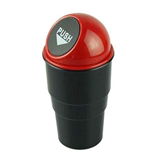 Qimao Auto Mülltonne Aschenbecher Mini Abfallbehälter Organisator-Halter-Auto-Innenraum Zubehör Trash