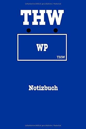 THW Notizbuch Fachgruppe Wasserschaden Pumpen: Notizbuch für Helfer des Technischen Hilfswerk, 60 Seiten