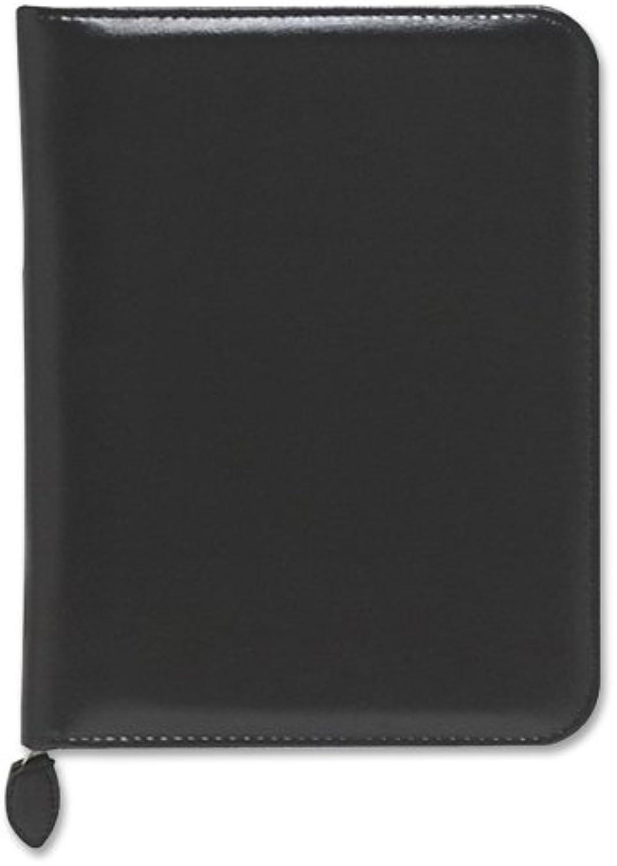 Verona Leder Reißverschluss Organizer Starter Set, 5–1 2 x 8–1 2, schwarz B0096XP372 | Charakteristisch