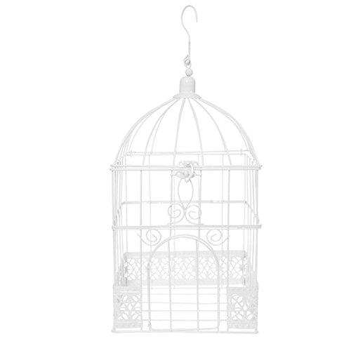 Santex 5313-1, hucha jaula cuadrada blanca