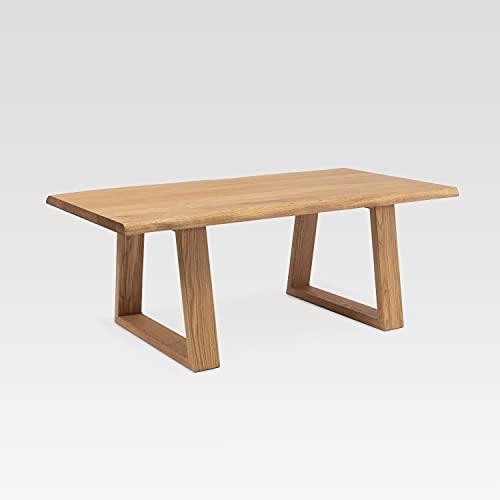 Beistelltisch Wohnzimmertisch Designer Couchtisch aus deutsche Eiche handgefertigt Massivholz Schlafzimmertisch Holztisch Universal Tisch aus Holz Echtholz FRED