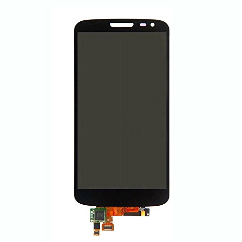 LCD Pantalla Táctil,UU FIX Para LG G2 Mini D620 D618 (Negro),Conjunto de teléfono inteligente Pantalla LCD compacta Pantalla táctil Repuesto de montaje de digitalizador Parte de reparación (SIN marco) con conjunto de herramientas de reparación