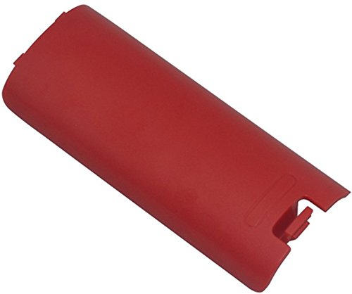 Replacement Battery Back Cover Case Door Sell Lid For Nintendo Wii Remote Controller (Red)