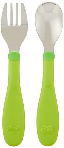 Chicco Posatine Inox 18 M+, Verde