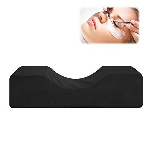 Great-hyc Eyelash Extension Pillows,U-shape Eyelash Grafting Pillow Professional Eyelash Extension Pillow Beauty Salon Pillow Neck Support Black