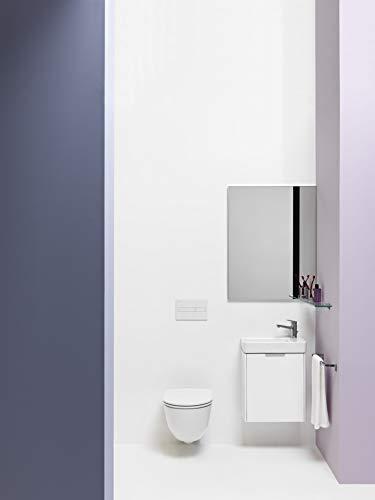 Laufen PRO Wand Tiefspül-WC, spülrandlos, offene Befestigung, 360x530, weiß, Farbe: Weiß mit LCC