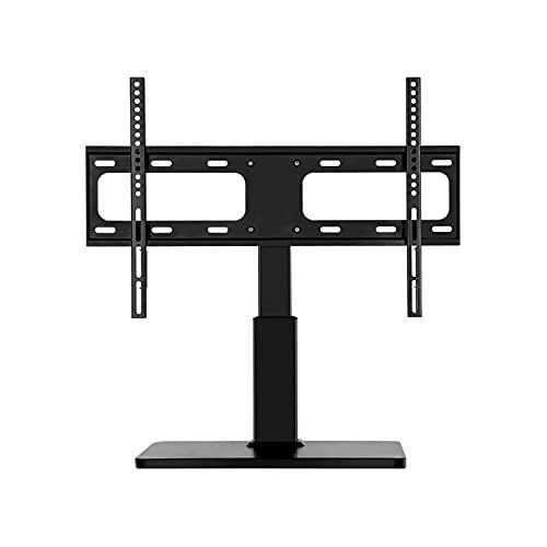 TELEVISOR Escritorio base LCD Monitor Soporte Universal Punch-Free TELEVISOR Soporte giratorio para la mayoría de los televisores de 32-70 pulgadas con máx. VESA 60 0x400mm, soporta hasta 99 libras