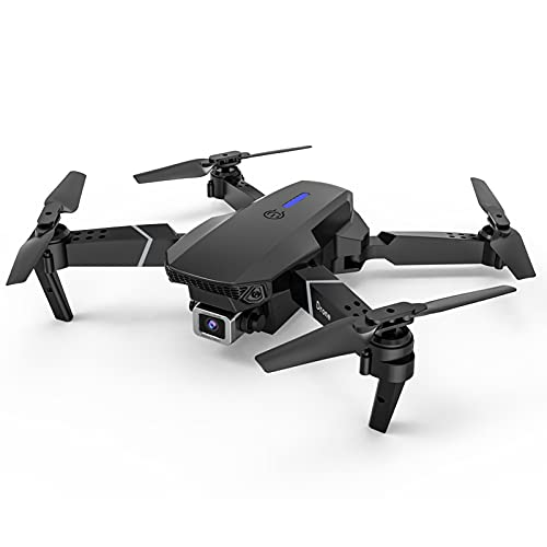 Foldable WiFi FPV Drone with 1080P HD Camera Live Video for Beginners, RC Quadcopter, Follow Me, Gesture Control, Circle Fly, Auto Hover & 5G WiFi Transmission (Black)