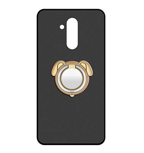 Sunrive Für Ulefone Power 3 / 3S Hülle Silikon, 360°drehbarer Ständer Ring Fingerhalter Fingerhalterung Handyhülle matt Schutzhülle Etui Hülle (Farbe Golden)+Gratis Universal Eingabestift MEHRWEG