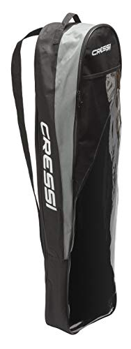 Cressi Long Fins Set Bag - Freediving Scuba Gear Bag Made in Premium Material Quality Since 1946