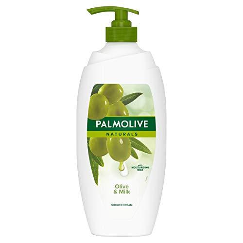 Palmolive Natural s Olive & Milk Feuchtigkeitsspendende Duschcreme, 750 ml
