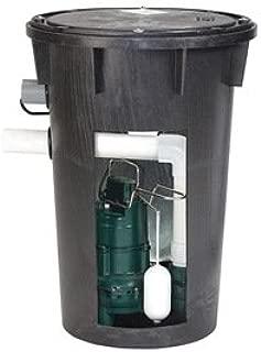 4/10 HP Sewage Pump and Basin System
