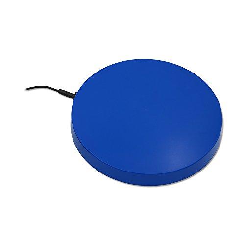 Tränkenwärmer (flach) 3143122 240mm, 230V, 19W, Anschlusskabel mit Stecker, Kunststoff blau