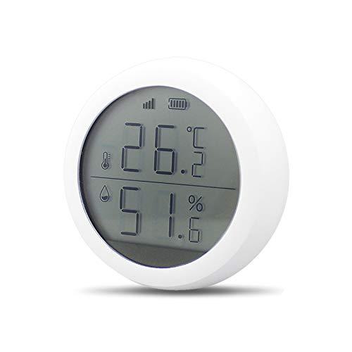Intelligenter Temperatur und Feuchtigkeitssensor, drahtlose WiFi-Digitalanzeige PIR Türfenster Temperatur Feuchtigkeitssensor Smart Life