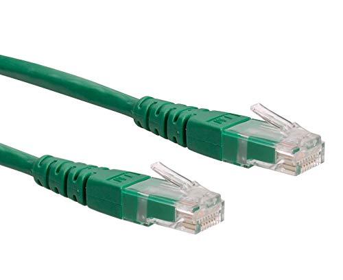 ROLINE LAN kabel Cat 6 | UTP Ethernet netwerkkabel met RJ45 connector Groen 20 m