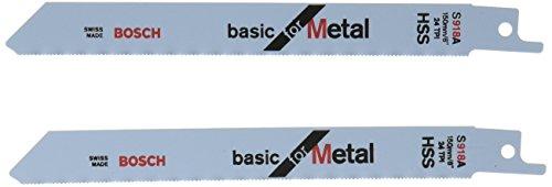 Bosch Professional 2608651944 Säbelsägeblatt 2 Säbelsägebl. S 918 AF
