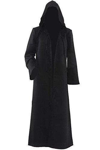 Accappatoio da uomo con cappuccio, motivo: Mantello per Cosplay Costumes-Costume da cavaliere