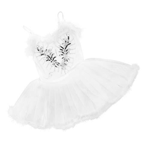 SOIMISS Vestido de Tut de Ballet para Mujer Disfraz de Actuacin Camisola Leotardo Pinza para El Cabello Traje de Pulsera Leotardo Mono para Mujeres Nias Talla M
