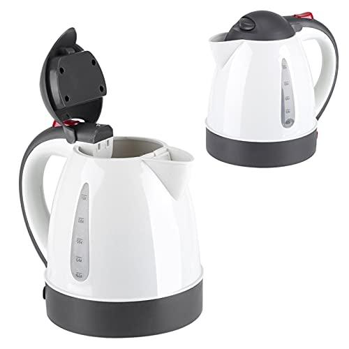 Wasserkocher Elektrischer, Reise Tragbarer Auto Kessel 1000mL Edelstahl Heizung Tasse Kaffee Becher für Camping Boot LKW(12V)