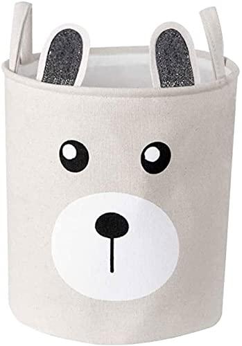 YRHH Canasta De Lavandería, Bolsa Organizadora De Ropa De Juguete De Tela Impermeable Plegable Adecuada para El Cubo Organizador De Ropa para Niños En El Hogar-B