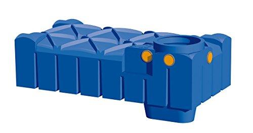 Rewatec Hausanlage Diver F-Line Flachtank 1500 Liter