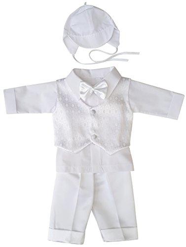 YES Taufanzug Festanzug Babyanzug Anzug Junge Baby Taufe Set Justin wieß 62