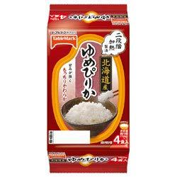 テーブルマーク 北海道産ゆめぴりか (分割) 4食 (150g×2食×2個)×8袋入×(2ケース)